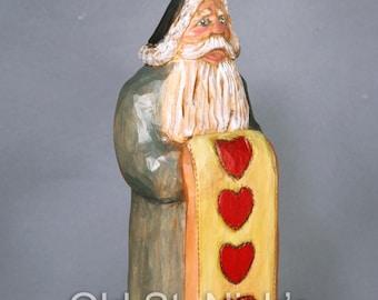 Santa Carving 1313