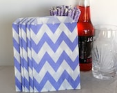 Lavender chevron party bags, treat, bitty, gift, party favor, baby shower bags, party supplies,candy buffet, wedding candy bags,sweet shop