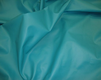 "Turquoise Apearl Clothing Faux vinyl upholstery fabric 55"" per yard"