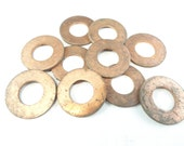 "Copper Washers, Industrial, 1"", 10 pcs"