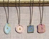 Bridesmaid Necklace / Romantic Vintage - Set of 6
