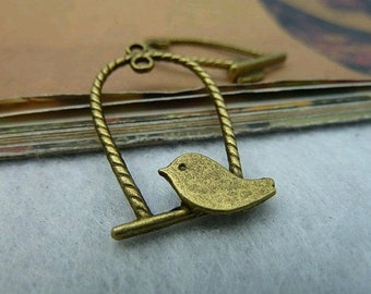 20pcs 17x29mm The Leaves Antique Bronze Retro Pendant Charm For Jewelry Bracelet Necklace Charms Pendants C3140