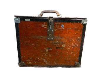Rustic Wood Storage Box Wood Trunk Shabby Decor Rustic Decor Industrial Decor