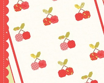 Cherry Pie quilt pattern by Fig tree Co.
