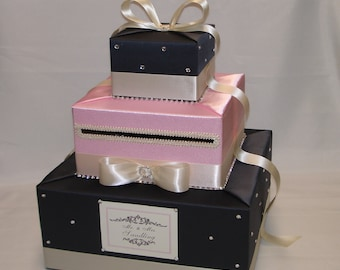 Elegant Custom Made Wedding Card Box -any colors