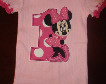 Miss Mouse  Birthday Shirt