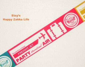 Baggage Tag - Translucent Narrow Sticker Tape - 13 yards