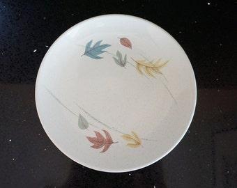 Set of 3 Vintage Franciscan Autumn Pattern Salad Plates