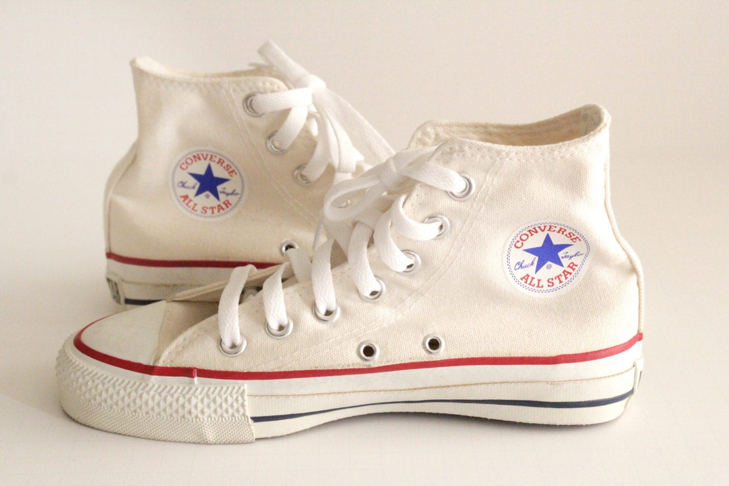 Vintage Made In USA Converse All Star Chuck Taylor 4 Hi Top