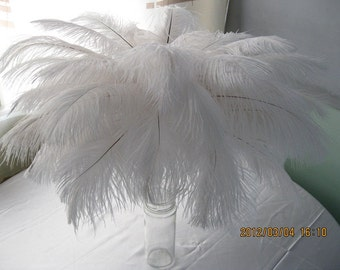 100pcs 10-12 inches ostrich feather for wedding cenrterpieces table top decorations 25-30cm Flower Arrangement