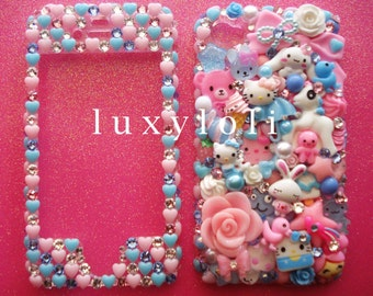 Custom Cotton Candy Pastels Decoden Phone Case