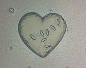 Small Zombie Heart Flexible Resin Mold