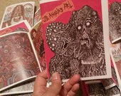 J.G. Angeles Art Zine limited to 75 copies