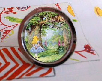 Alice in Wonderland Cheshire Cat Novel Drawer Pull Cabinet Knob Handle