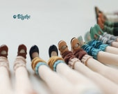 Miss yo hand-knitted ankle socks for Blythe doll - doll accessories - 7 colors in