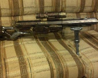 Steampunk Longstrike Nerf Sniper Rifle