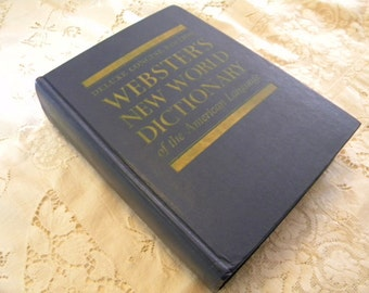 Websters New World dictionary Deluxe Concise Edition 1964