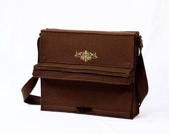 Piano Bag Musical Instrument Brown Felt Bag