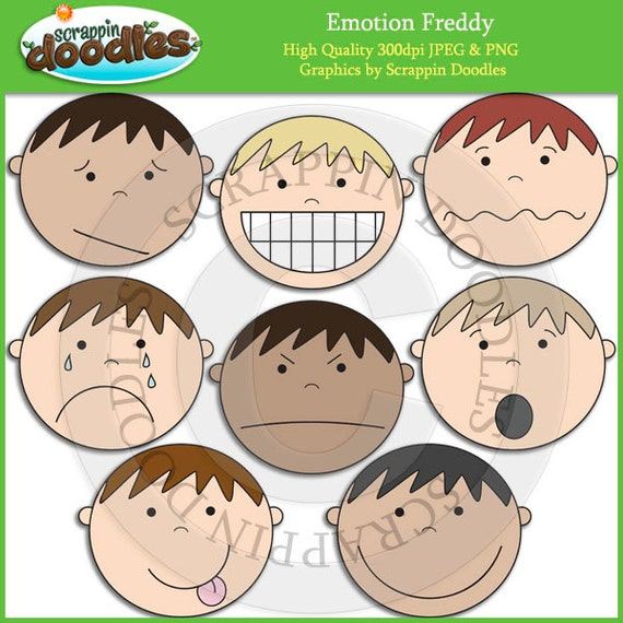 Emotion freddy clip art for Emotion art projects