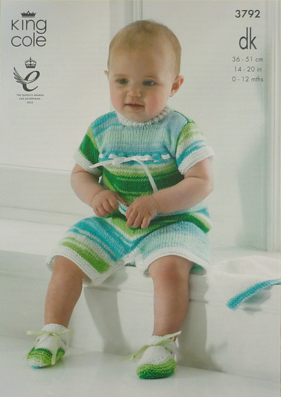 Knitted All In One Baby Suit Pattern : Baby Knitting Pattern K3792 Babies All In One Romper Suit & Long Sleeve W...