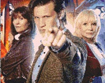 For Doctor Who fans!!! The Doctor, Jo Grant and Sarah Jane together