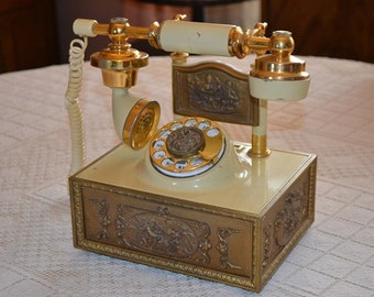 Vintage 1980s French Telephone