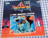 voltron defender of the universe - the buried castle, vintage 1985 children's book