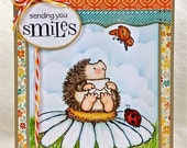 Sending Smiles Handmade Greeting Card