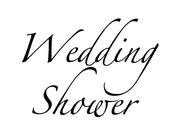 Wedding Shower - Words for Digital Download Only
