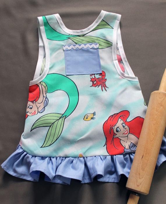 Little Mermaid Child's Apron