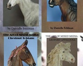 Collection of Instructional DVDs - Prep, Paint, Customize Model Horses - Breyer, Stone, Artist Resin
