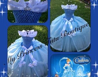 Cinderella Tutu Dress Cinderella Girls Tutu Dress Disney Princess Tutus Princess Tutus Princess Tutu Dress Princess Halloween Costume