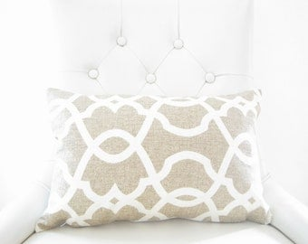 neutral pillow covers, decorative pillows, home decor, pillow covers, neutral lumbar cover, chair pillows, neutral accent pillow cover