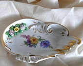 Dresdner Art Germany Porcelain Plate Dish Great Design, Excellent Condition, Wonderful Gift