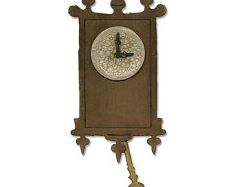 Tim Holtz  Sizzix Bigz Die - Wall Clock