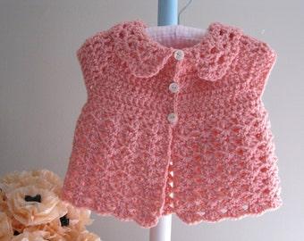 Baby Vest Pattern.........THELMA'S VEST