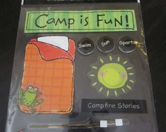 Soft Spoken Camp Embellishments