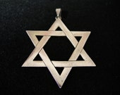 star of david pendant (vintage)