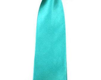 Mens Wedding Tie Aqua Jade