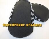 waterproof upgrade for mychickiet, non slip soles