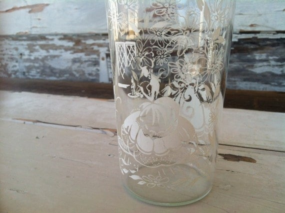 2 Vintage Southern Belle Drinking Glasses Retro Tumblers
