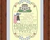 200  Years of Pride & Prejudice / Commemorative Sampler / Jane Austen