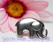 Elephant Double Hole Shank Button x 20