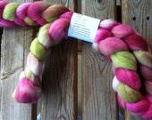 Fiber for Spinning - Finn Top - Rose Garden