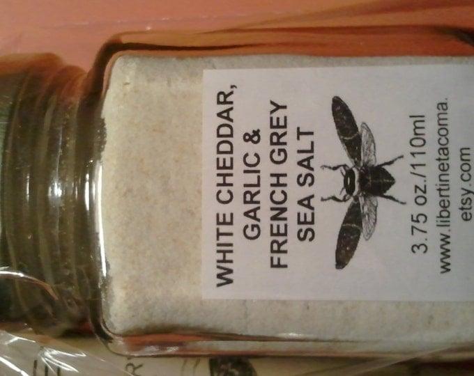 White Cheddar, Garlic & French Grey Sea Salt