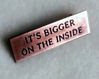 Copper Pin - It's Bigger on the Inside
