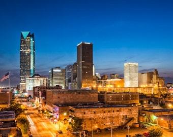 Oklahoma City - Buildings - Bricktown - Architecture - Downtown - Oklahoma City Skyline