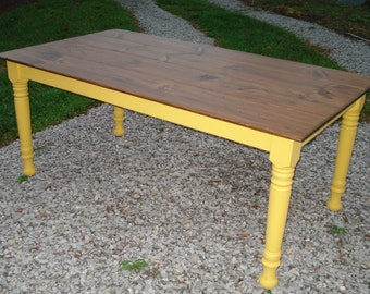 Farm Table, Wood Farm Tables, Etsy Dining Tables, Distressed Farm Table, Kitchen Table, Farmstyle Table