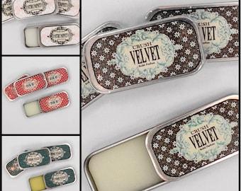 Solid Pefume  Velvet  Vanilla Organic Essential Oil Vegan