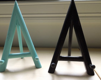 Pair of vintage easels